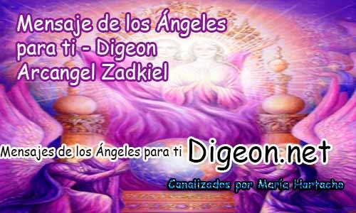 MENSAJES DE LOS ÁNGELES PARA TI - Digeon - 14 de Junio - Arcángel Zadkiel - Día 1207 + Consejo de tu Ángel y Decreto para Transmutar una situación Difícil