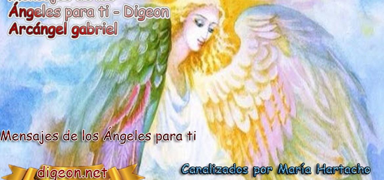 MENSAJES DE LOS ÁNGELES PARA TI - Digeon – 08 de junio - Arcángel Gabriel + Consejo de tu Ángel y Decreto para la protección y el consejo diario de los ángeles