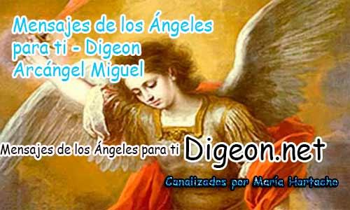MENSAJES DE LOS ÁNGELES PARA TI - Digeon - 03 de Octubre - Arcángel Miguel - Día 1281 + Consejo de tu Ángel y Decreto para la Protección