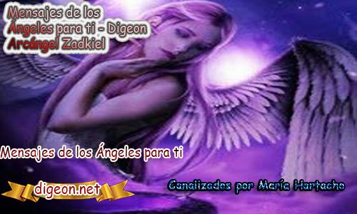 MENSAJES DE LOS ÁNGELES PARA TI - Digeon - 23 de Octubre - Arcángel Zadkiel - Día 1298 + Consejo de tu Ángel y Decreto para La Riqueza y Abundancia