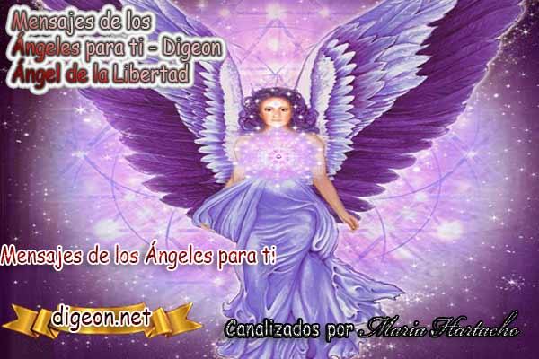 MENSAJES DE LOS ÁNGELES PARA TI - Digeon - 07 de Noviembre - Ángel de la Libertad, y todo lo relacionado con los ángeles y arcángeles