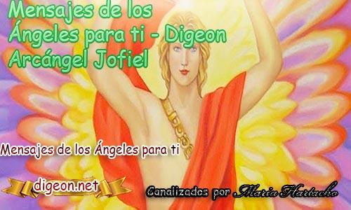 MENSAJES DE LOS ÁNGELES PARA TI - Digeon - Arcángel Jofiel - Día 1311