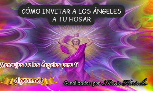 CÓMO INVITAR A LOS ÁNGELES A TU HOGAR - atraer a los ángeles, comunicarse con los ángeles, tener contacto con los ángeles, ritual con los ángeles