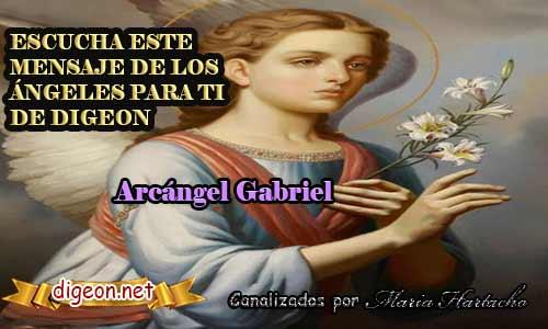MENSAJES DE LOS ÁNGELES PARA TI - Digeon - 13 deAbril - Arcángel Gabriel - Canalización Con Los Ángeles