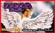 MENSAJES DE LOS ÁNGELES PARA TI - Digeon - 23 deAbril - Arcánfgel Gabriel - Canalización Con Los Ángeles