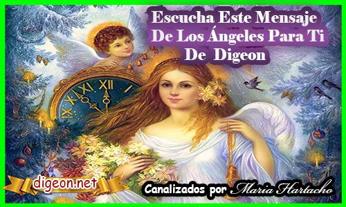 MENSAJES DE LOS ÁNGELES PARA TI - Digeon -ARCANGEL URIEL - Canalización Con Los Ángeles, como comunicarse con los ángeles y arcángeles