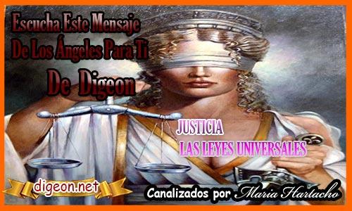 JUSTICIA - LAS LEYES UNIVERSALES