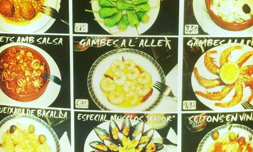 Comida, Arte urbano Barcelona, digerible