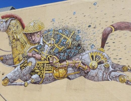 Pixel Pancho Arte Urbano digerible