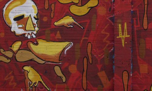 Arte Urbano Orne Cabrita digerible