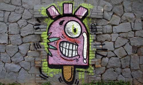 Konair, arte urbano, Barcelona Digerible