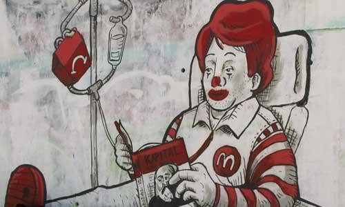 Arte urbano Jauma mc, Barcelona Digerible