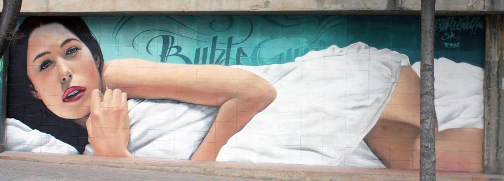 Bublegum, Arte urbano Sabadell, Digerible