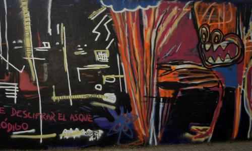 Arte urbano Barcelona, digerible, Nacho Tusquets