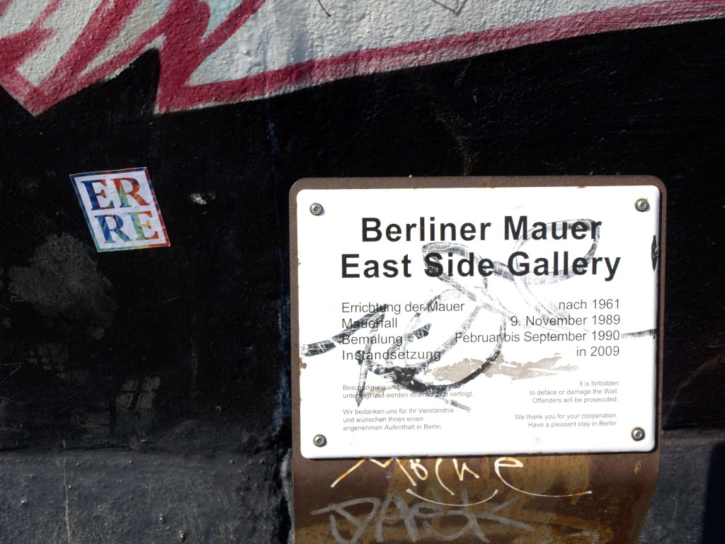ErrE, arte urbano en Berlín