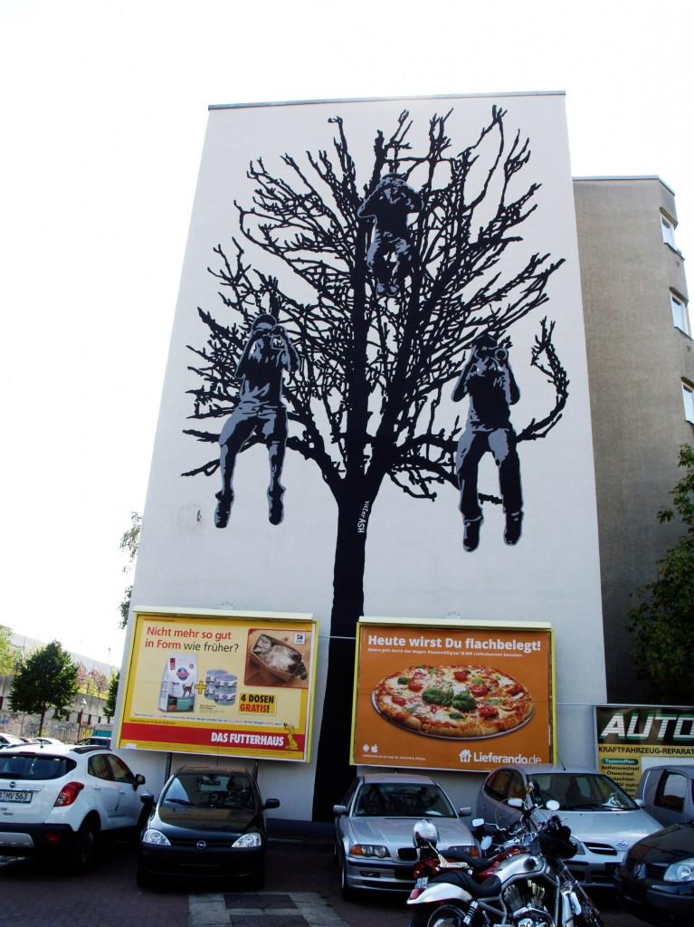 Victor Ash, arte urbano en Berlín