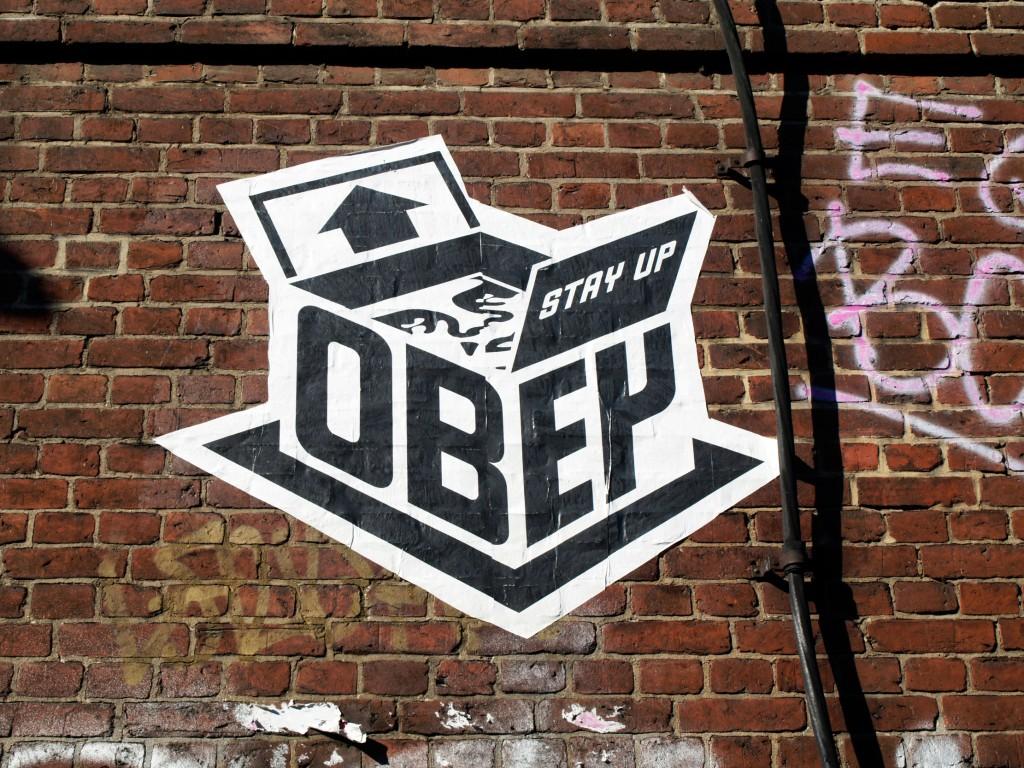 Shepard Fairey - Obey, arte urbano en Berlín