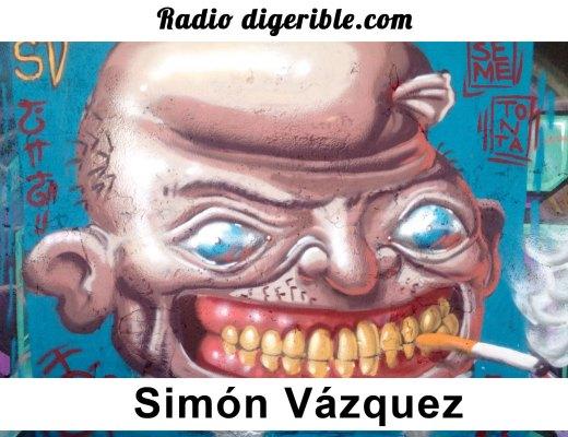 Radio digerible, arte urbano Simón Vázquez