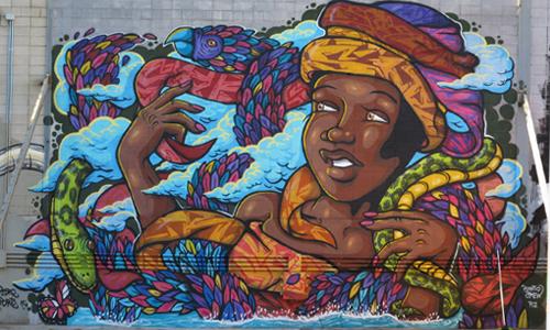 Arte urbano Barcelona La Pau