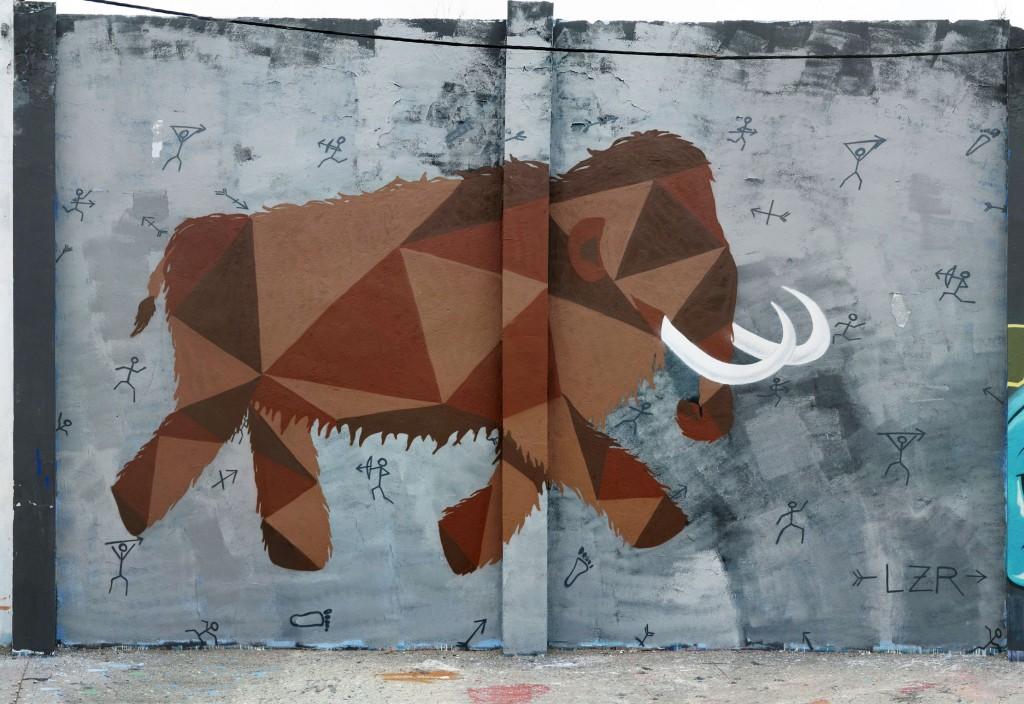 LZR arte urbano en Barcelona