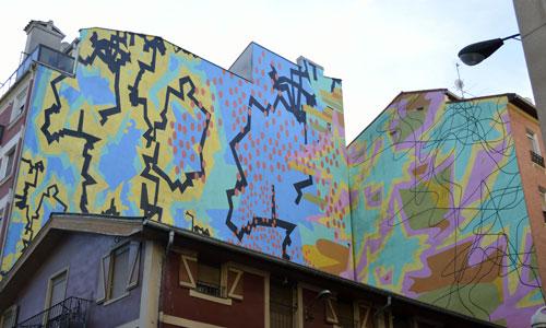 Fermín Moreno arte urbano en Bilbao, España