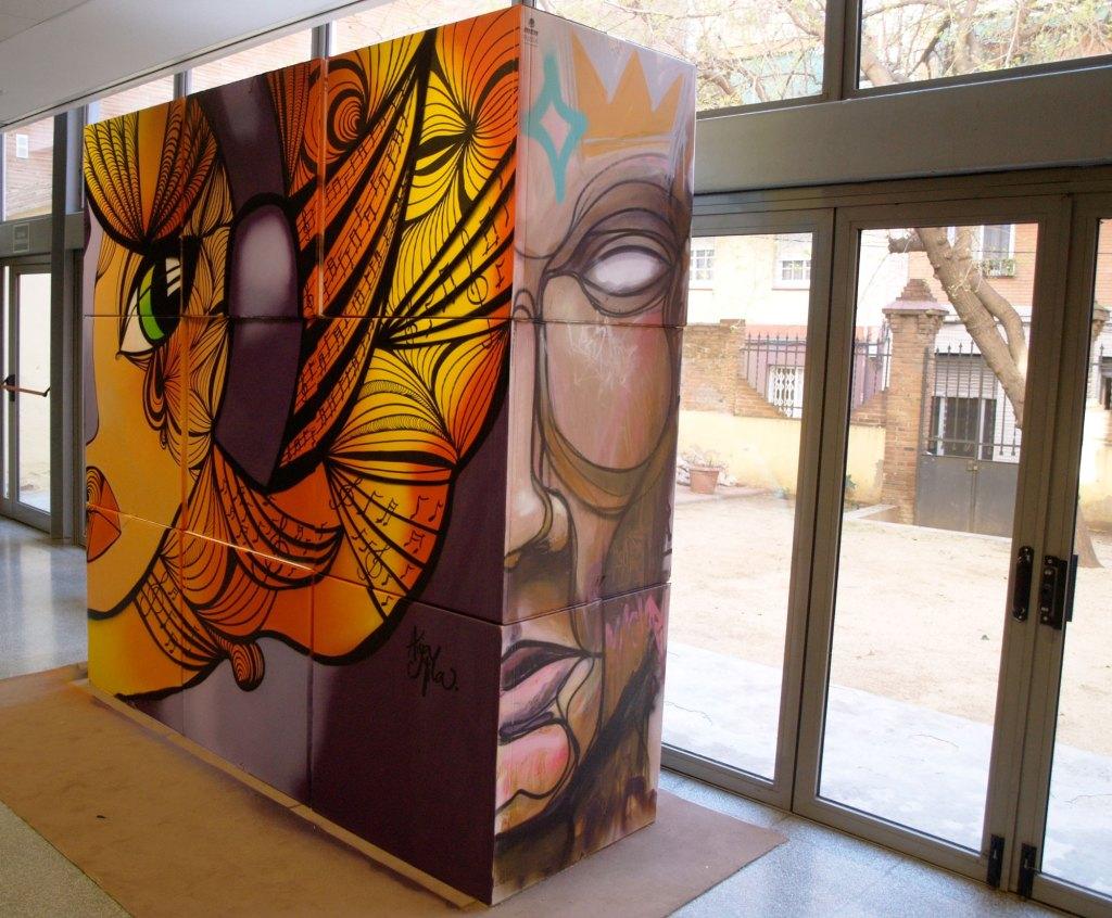 arte urbano en Barcelona, Fotografías