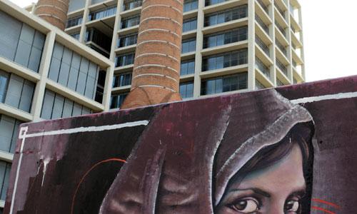Aram Rah arte urbano en Barcelona