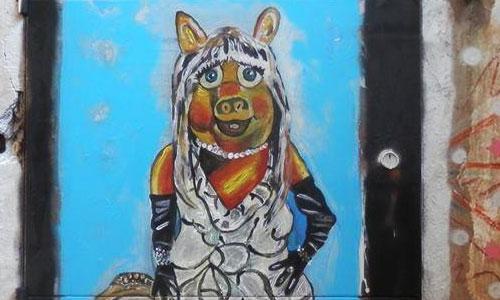Dan Jordan arte urbano en Barcelona