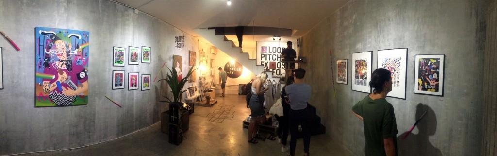 Exposición de arte HellGallery Barcelona