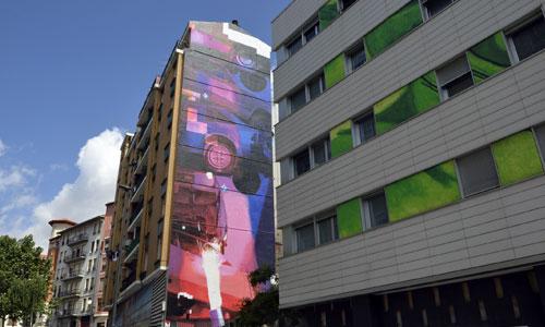 Zoer y Velvet arte urbano en Bilbao