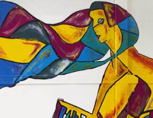 Aitziber Escudero arte urbano en Bilbao