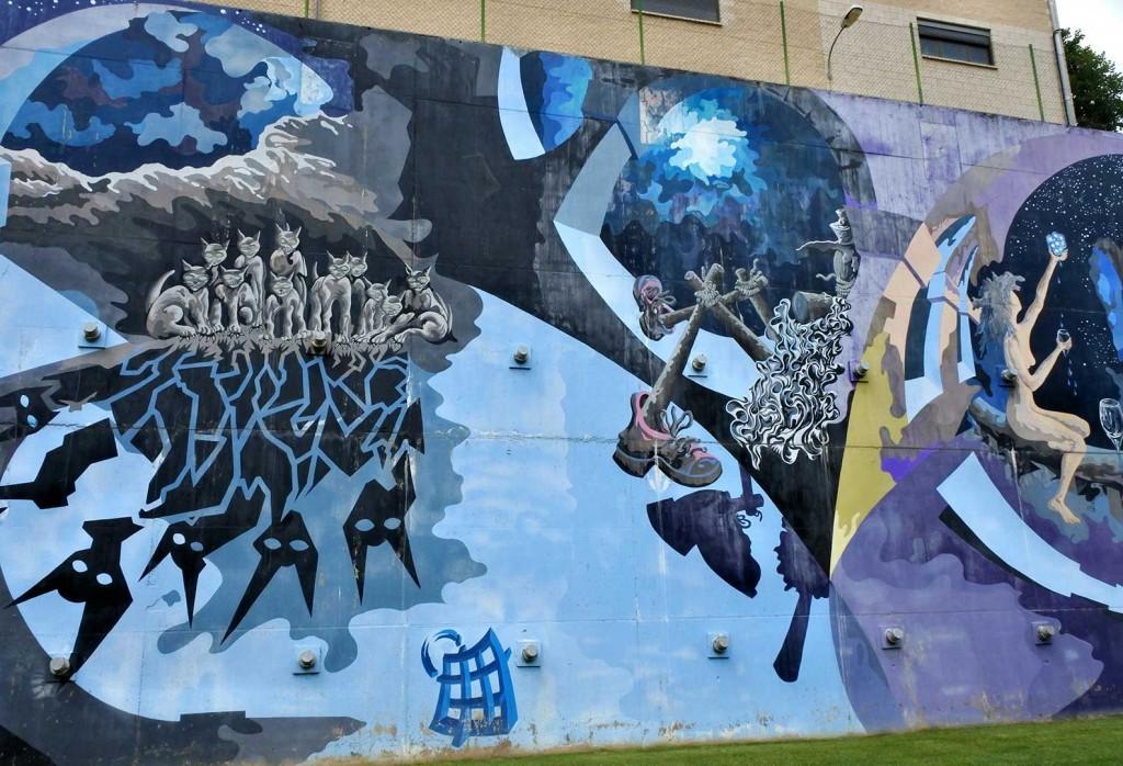 Arte urbano País Vasco, Galería de arte