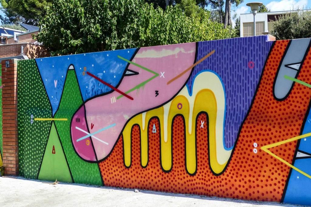 Arte urbano en La Garriga