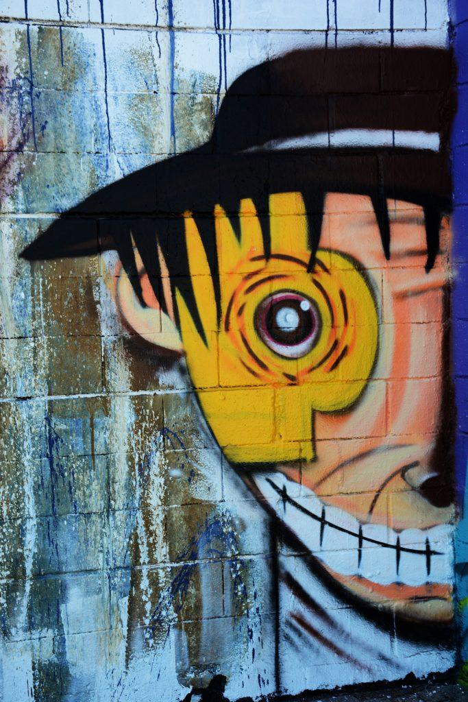 arte urbano, erre, rim, en Barcelona