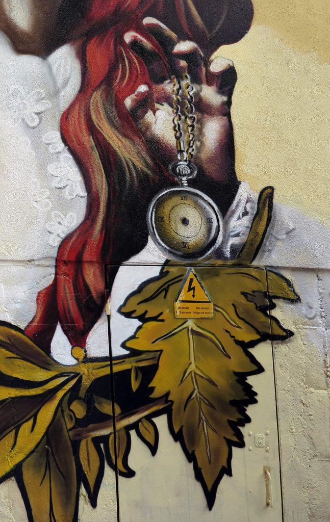 arte urbano Lily Barcelona