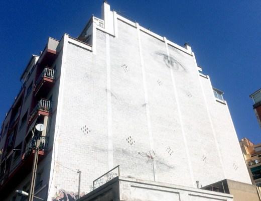 Jorge Rodríguez-Gerada arte urbano en Badalona