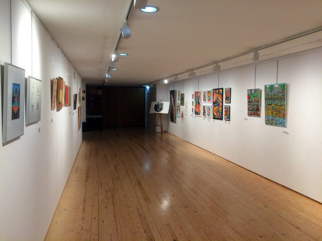 Galería de arte, Del mur al llenç