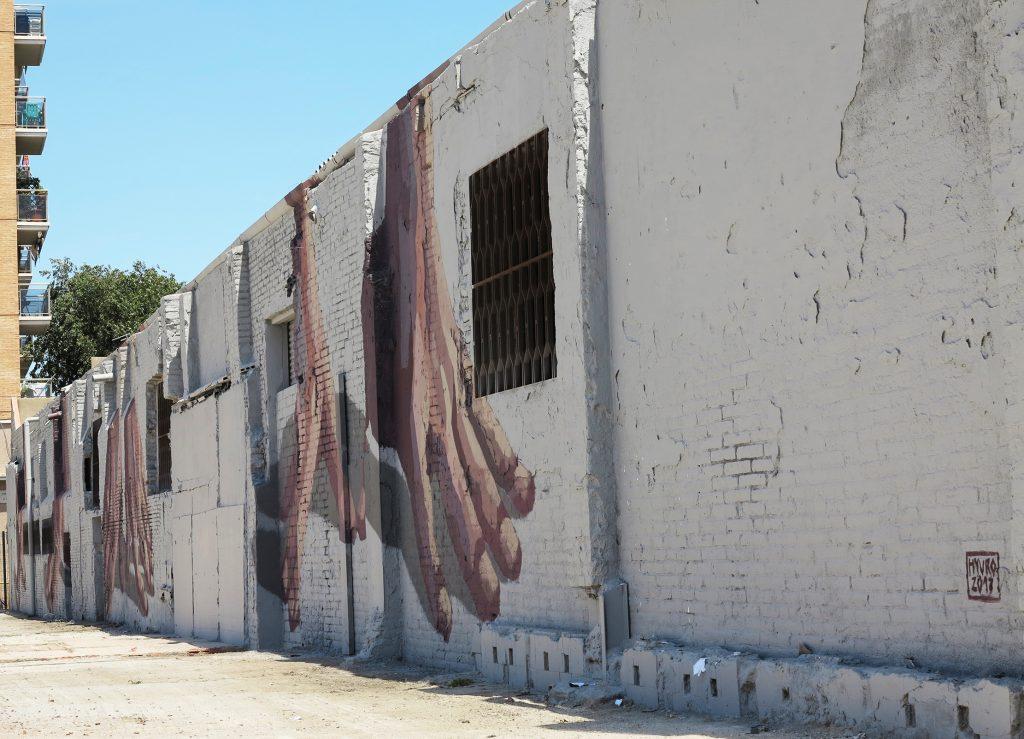 Arte urbano Hyuro, Barcelona