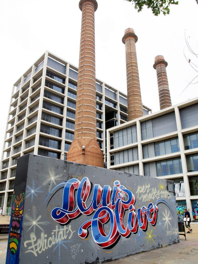 Arte urbano, Barcelona, Rim Chiaradia