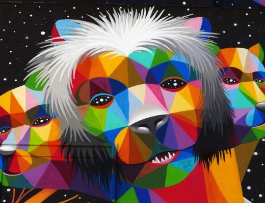 arte urbano Okuda Francia