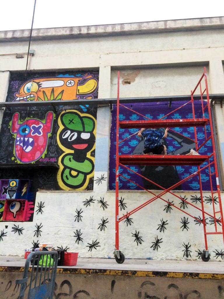 Arte urbano en la Naubostik, Take Over