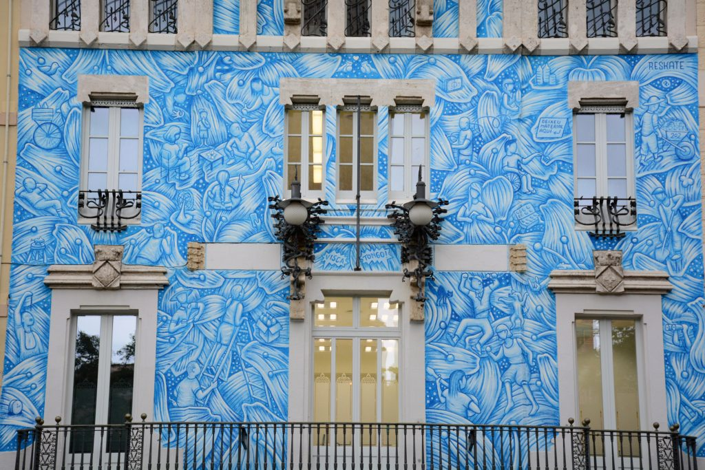 Reskate arte urbano en Barcelona