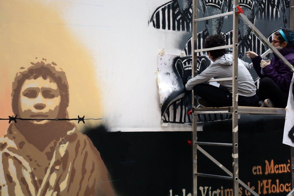 Arte urbano de Roc Blackblock