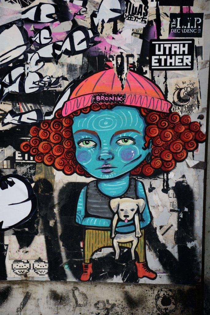Bronik arte urbano, Barcelona, Andén Gallery
