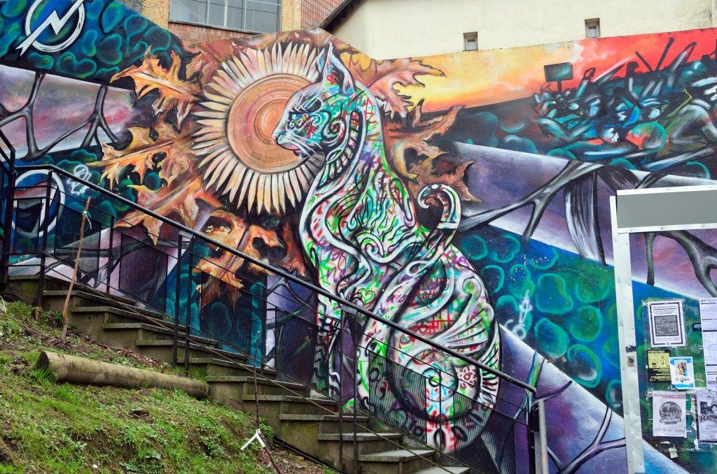 Gisel Rosso arte urbano en Bilbao