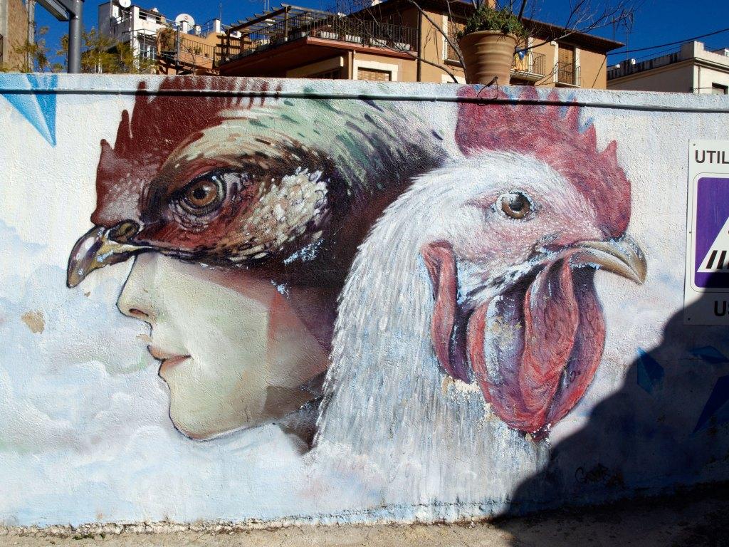 arte urbano en Altafulla