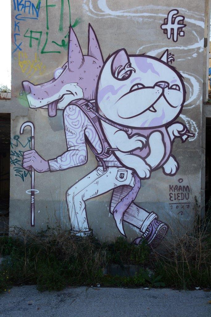 arte urbano, fatal fake, Barcelona