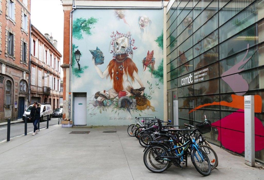 Arte urbano Miss Van, Toulouse, Francia
