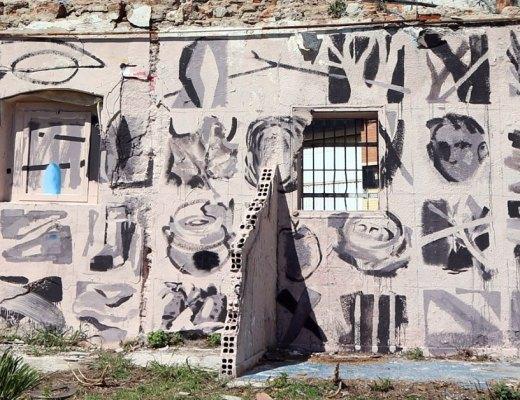 arte urbano Emilio Cerezo & Alberto de Blobs en Barcelona