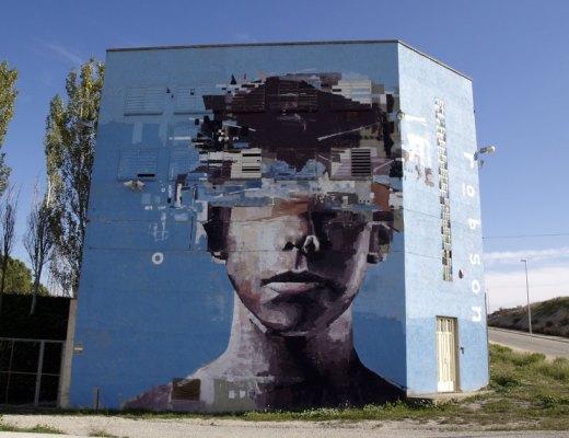 Brad Robson arte urbano en Igualada – Barcelona